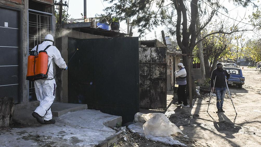 Detectaron 23 nuevos casos de coronavirus en Villa Azul