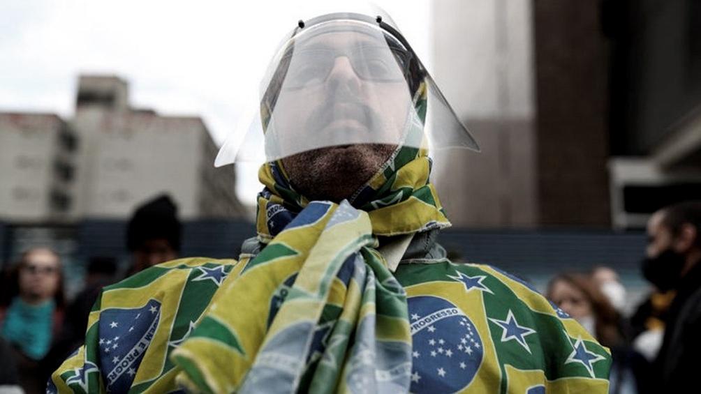 A pesar de su situación sanitaria, Brasil aceptó organizar la Copa América.