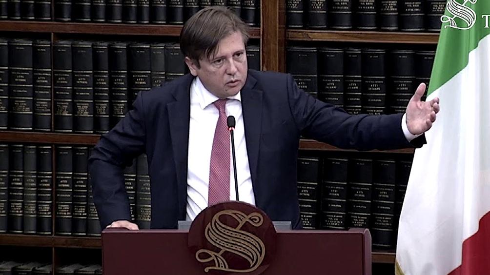 Pierpaolo Sileri,  viceministro de Salud