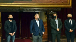 """La lucha contra la pandemia no significa que se cierren las instituciones"", dijo Negri"