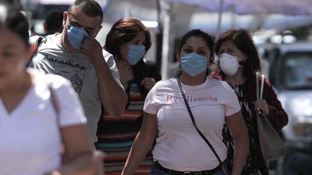 Pese a que se ha iniciado el desconfinamiento, México registra los picos máximos de casos.
