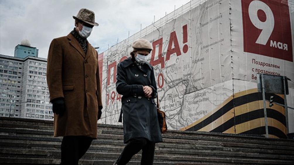 Rusia supera el medio millón de casos de coronavirus