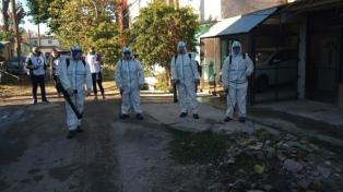 Barrios vulnerables: murieron dos personas y los casos de coronavirus ascienden a 5.185