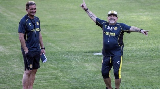 """Islas: """"A Maradona lo adoro y quiero verlo siempre feliz"""""""