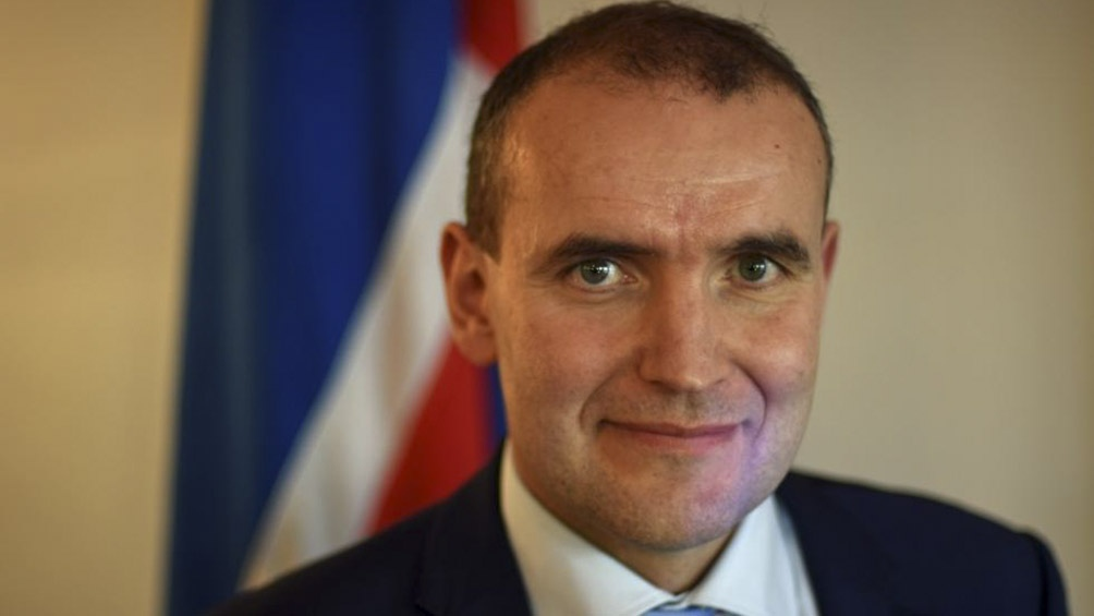 Guoni Thorlacius Jóhannesson, presidente de Islandia