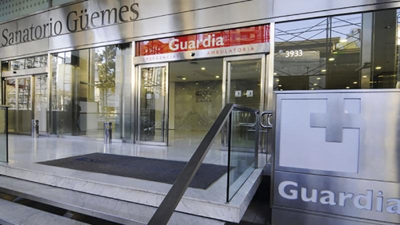 Cómo es internarse con coronavirus hoy en la Ciudad: el sanatorio Güemes, un caso testigo