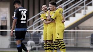 Borussia Dortmund goleó al Paderborn por la Bundesliga