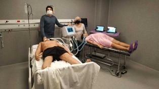 La UNLP puso a prueba un dispositivo para que un respirador pueda ser usado por dos personas a la vez