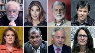 """La Internacional Progresista alertó por la """"guerra jurídica"""" que amenaza las elecciones"""