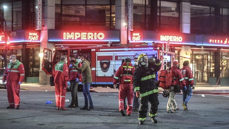 """""""Murieron cumpliendo el espíritu innato del bombero"""", dijo el jefe de Bomberos porteño - Télam - Agencia Nacional de Noticias"""