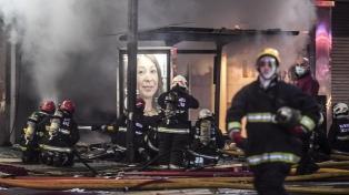 Imputaron a 9 personas por el incendio de la perfumería de Villa Crespo