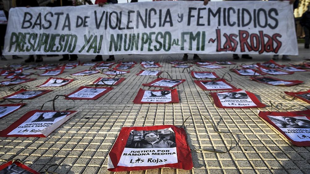 Más de 1.240 mujeres fueron víctimas de femicidio en los últimos cinco años  y este año ya suman 79 - Télam - Agencia Nacional de Noticias