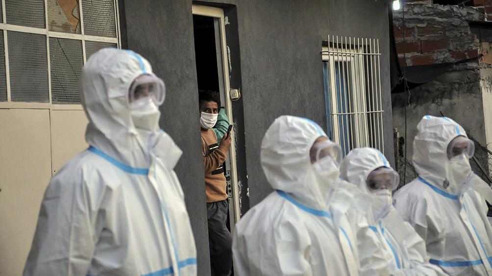 Dos muertos y 160 nuevos casos de coronavirus en barrios vulnerables porteños