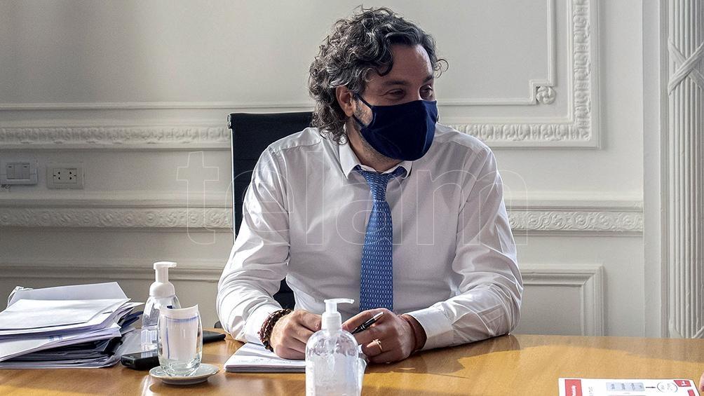 """Cafiero explicó que """"se viene trabajando en forma coordinada"""" con la oposición para salir adelante"""