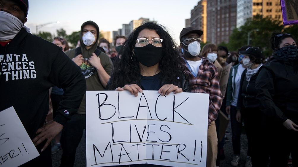 Diversas protestas se llevaron adelante luego de conocerse el asesinato de Floyd.