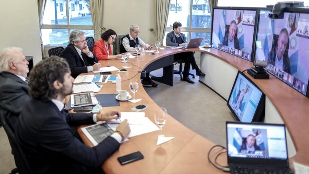 Los gobernadores acompañan la extensión del aislamiento administrado anunciado por el Presidente