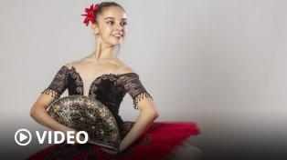 La argentina Paloma Ramírez y otras 40 bailarinas del mundo son éxito en las redes