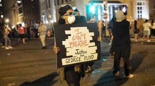 Asesinato de Floyd: remite la violencia, pero no cede el reclamo del fin del racismo