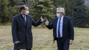 """Gutiérrez dijo que el Presidente """"será recordado como el hombre que le salvó la vida al pueblo"""""""