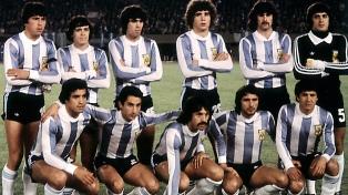 Presencias y goles de los integrantes del seleccionado argentino campeón