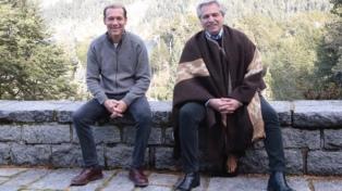 Alberto Fernández compartió un almuerzo con el gobernador neuquino