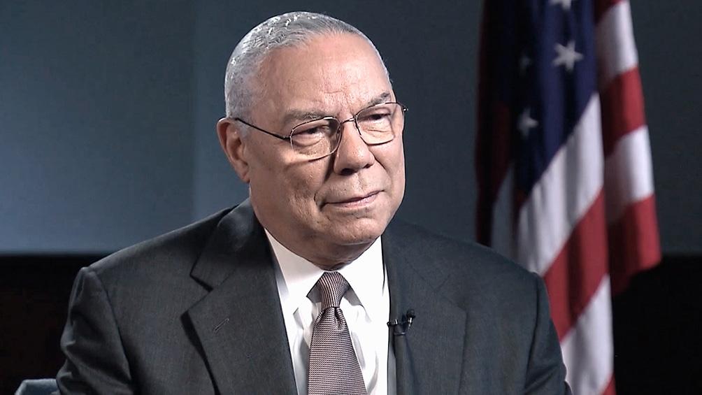 Collin Powell, ex secretario de Estado 2001-05