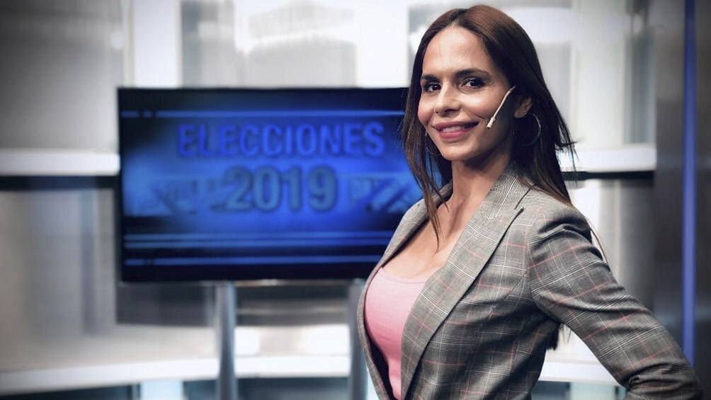 Melisa Zurita, periodista de Canal 26
