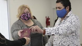Se reanudaron los casamientos en Neuquén sin amigos ni familiares