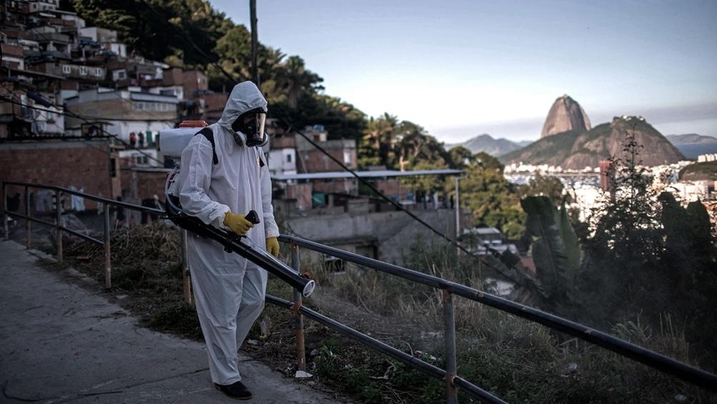 Esta semana la ocupación de camas de terapia intensiva en la ciudad de Rio en la red pública llegó a 95%