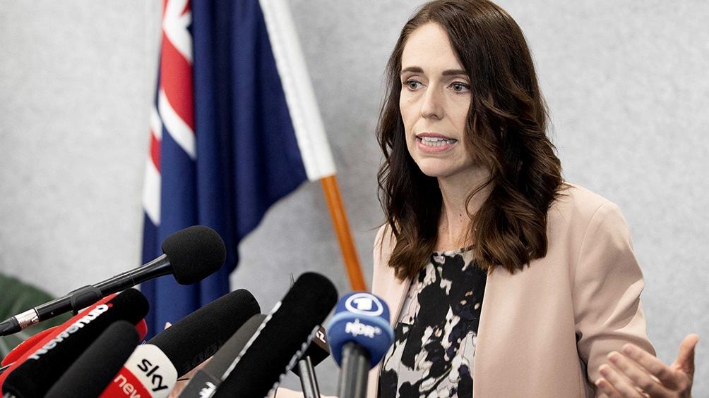 La primera ministra, Jacinda Ardern, busca la reelección