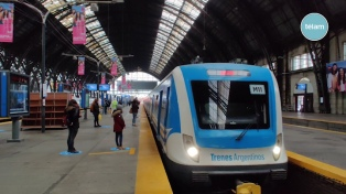 Los cuatro gremios ferroviarios acordaron una paritaria del 37,5% y gratificación de 15 mil pesos
