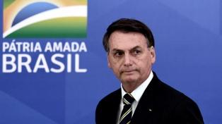 Bolsonaro, preocupado por las protestas en medio de la manipulación de datos