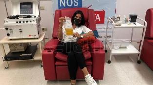 Por qué se promueve la donación de plasma de pacientes recuperados