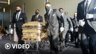Dieron el último adiós a George Floyd, víctima del racismo y la brutalidad policial
