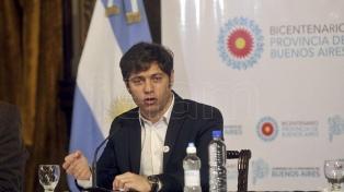 """Kicillof: """"En la provincia de Buenos Aires hubo espionajes que están saliendo a la luz"""""""