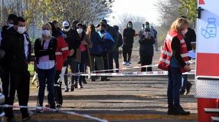 Suman 117 los contagiados de coronavirus en el barrio San Jorge de Tigre