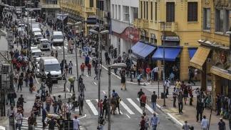 San Pablo ya reabrió los comercios y los shoppings.