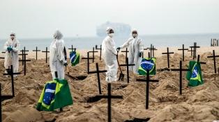 Brasil registra 1.079 nuevas muertes por coronavirus y queda al borde de las 100.000