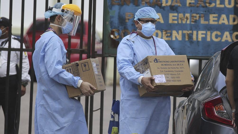 """Los hospitales estatales están """"colapsando"""" por la pandemia"""
