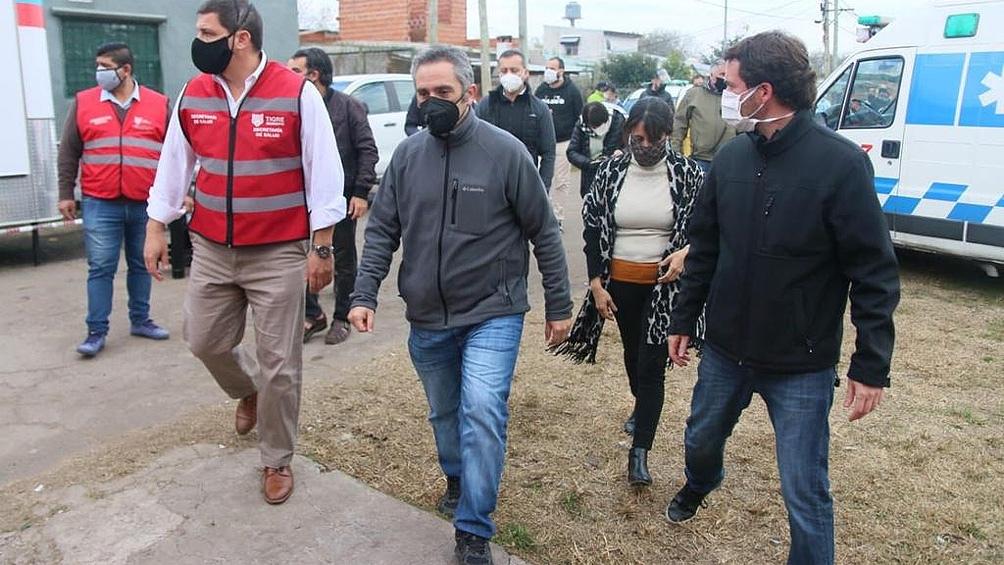 """""""Tengo una tarea inmensa en la provincia de Buenos Aires atinente a lo social"""", afirmó Andrés Larroque."""