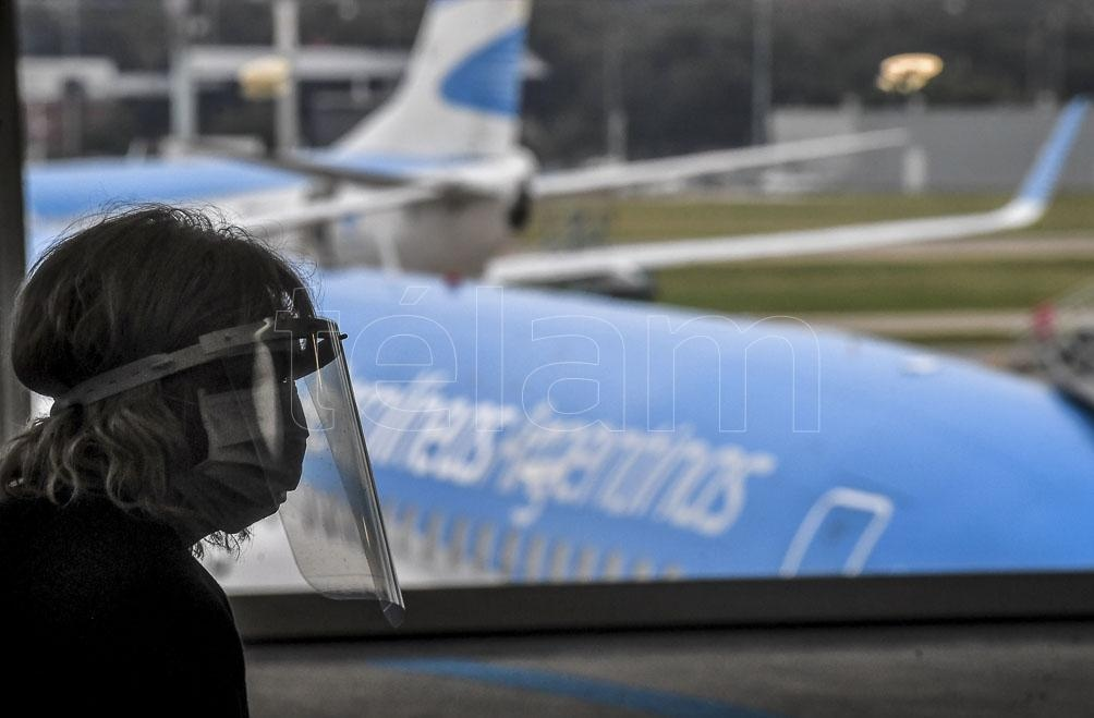 Cerca de 1.500 pasajeros volaron entre Buenos Aires y Resistencia sin contagios