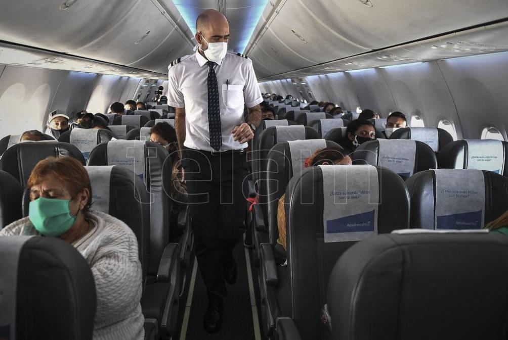 Nuevo dispositivo sanitizante para aviones