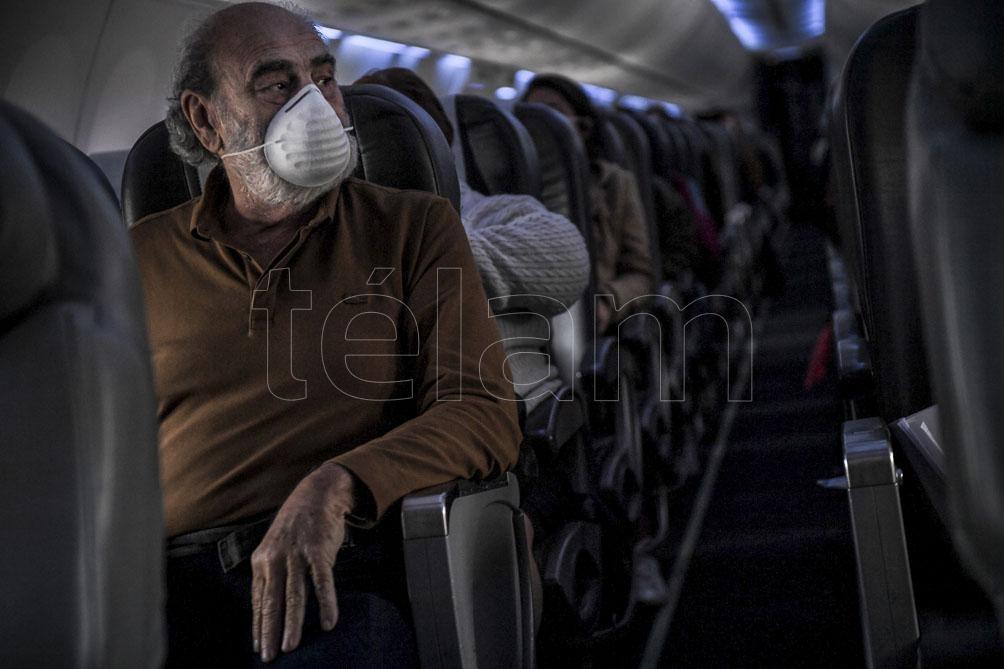 """Ceriani apeló """"a la comprensión de todos los pasajeras y pasajeros""""."""