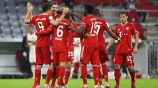 Bayern Múnich ganó y logró el título por octava vez consecutiva