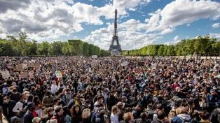 Nueva protesta en París contra el racismo y la brutalidad policial
