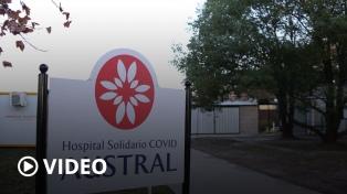 Un hospital solidario en Pilar atiende a pacientes críticos que no tienen cobertura médica