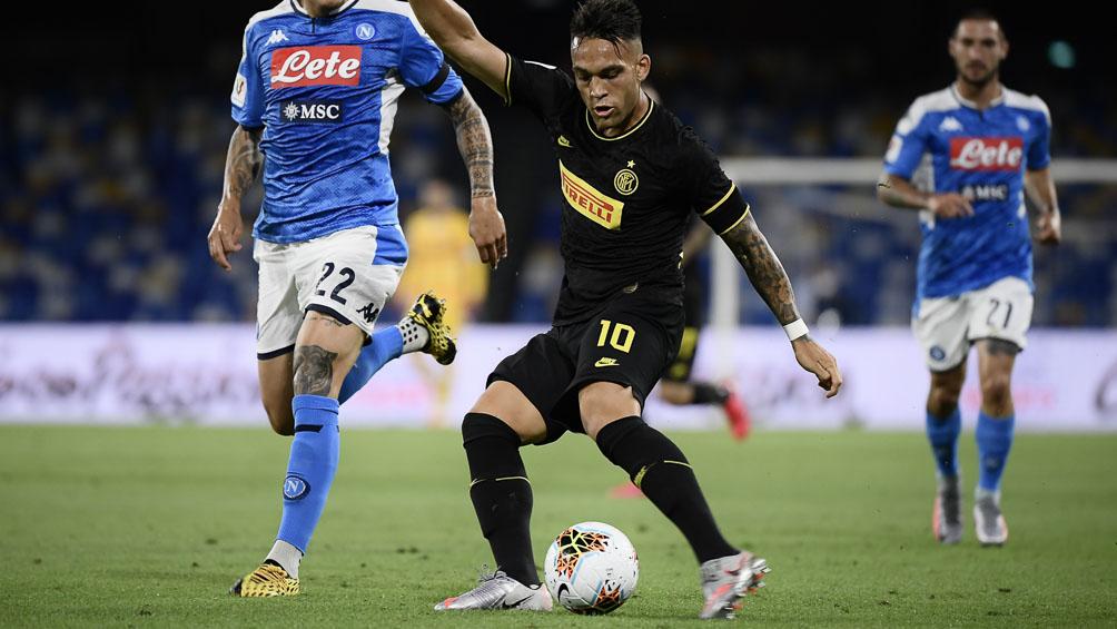 El Inter de Lautaro Martínez juega con Sampdoria en la continuación de la Serie A