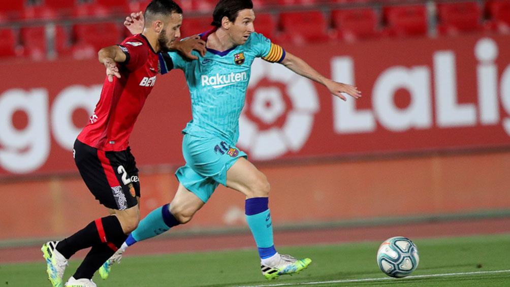 Iniciarán acciones penales al intruso que ingresó al campo en Mallorca-Barcelona
