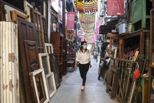 El tradicional Mercado de Pulgas de Colegiales vuelve a funcionar los fines de semana
