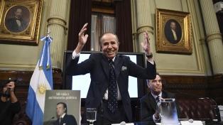 A tres días de cumplir 90 años, dieron de alta a Carlos Menem